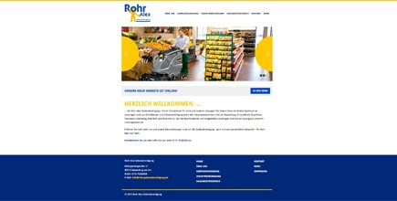 Unsere neue Website ist online!